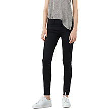 Buy Mango Skinny Elektra Jeans, Grey Online at johnlewis.com