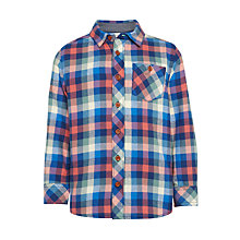 Buy John Lewis Boys' Multi Check Shirt, Multi Online at johnlewis.com