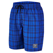 Buy Speedo Check Watershort Swim Shorts Online at johnlewis.com