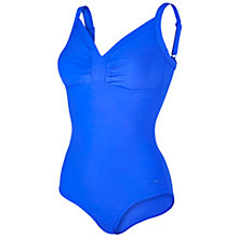 Buy Speedo Sculpture Watergem Swimsuit, Blue Online at johnlewis.com