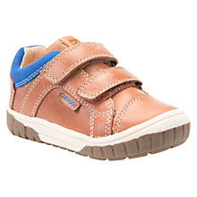 Buy Geox Children's Omar Riptape Shoes, Tan Online at johnlewis.com