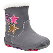 Buy Geox Children's B Balu Boots, Grey Online at johnlewis.com