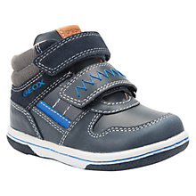 Buy Geox Children's Flick Boy Riptape Shoes Online at johnlewis.com