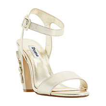 Buy Dune Mayflower Block Heeled Sandals Online at johnlewis.com