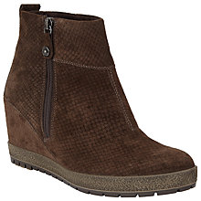 Buy John Lewis Designed for Comfort Pacific Wedge Heeled Ankle Boots Online at johnlewis.com