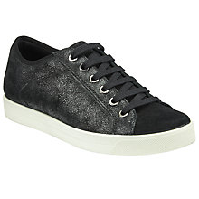 Buy John Lewis Designed for Comfort Ebony Lace Up Trainers, Black Online at johnlewis.com