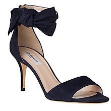 Buy L.K. Bennett Agata Bow Stiletto Sandals Online at johnlewis.com