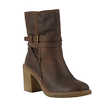 Buy John Lewis Phoenix Faux Fur Lined Ankle Boots, Brown Online at johnlewis.com