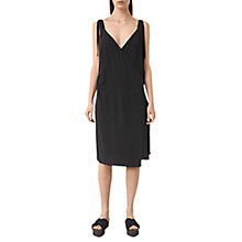 Buy AllSaints Vea Silk Dress Online at johnlewis.com