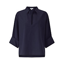 Buy Jigsaw V-Neck Artisan Shirt Online at johnlewis.com