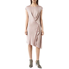Buy AllSaints Breeze Dress, Rose Pink Online at johnlewis.com