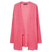 Buy Violeta by Mango Fine Knit Cardigan, Medium Pink Online at johnlewis.com