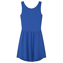Buy Mango Wrap Dress, Medium Blue Online at johnlewis.com