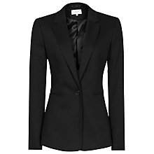 Buy Reiss Dartmouth Textured Jacket, Black Online at johnlewis.com