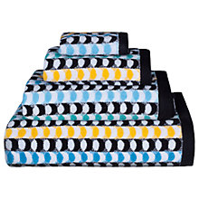 Buy Lindsey Lang Crescent Cotton Towels, Multi Online at johnlewis.com