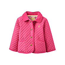 Buy Baby Joule Mabel Quilt Coat, Pink Online at johnlewis.com