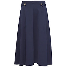 Buy Tommy Hilfiger Felicity Midi Skirt, Navy Blazer Online at johnlewis.com