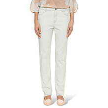 Buy Marc Cain Bleached Mid Rise Jeans, Pale Blue Online at johnlewis.com