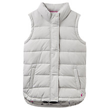 Buy Joules Eastleigh Padded Gilet, Silver Online at johnlewis.com