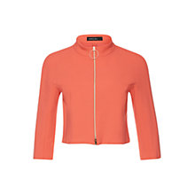 Buy Marc Cain Cropped Zip-Up Jacket, Grenadine Online at johnlewis.com