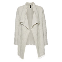 Buy Marc Cain Textured Waterfall Cardigan, Spa Blue Online at johnlewis.com