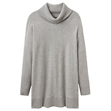 Buy Joules Eartha Roll Neck Jumper, Soft Grey Marl Online at johnlewis.com
