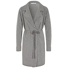 Buy Oui Longline Cardigan, Grey Online at johnlewis.com