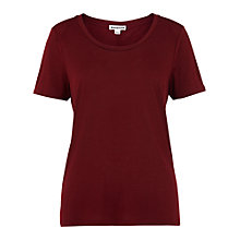 Buy Whistles Maye Seam Back T-Shirt Online at johnlewis.com