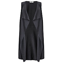 Buy Studio 8 Cynthia Sleeveless Cardigan, Charcoal Online at johnlewis.com