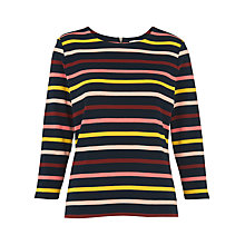 Buy Whistles Long Sleeve Stripe T-Shirt, Multi Online at johnlewis.com