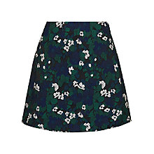 Buy Whistles Pansy Jacquard Skirt, Multi Online at johnlewis.com
