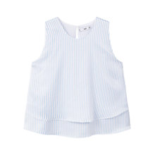 Buy Mango Ruffled Hem Top Online at johnlewis.com