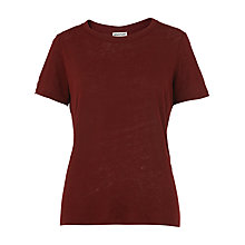 Buy Whistles Linen T-Shirt Online at johnlewis.com