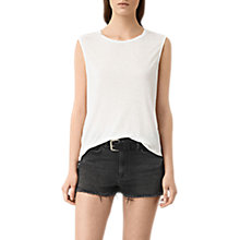 Buy AllSaints Louis Jay Top Online at johnlewis.com