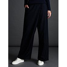 Buy Modern Rarity Cross Front Trousers, Navy Online at johnlewis.com