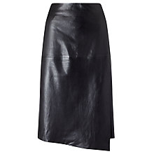 Buy Modern Rarity Leather Cut Edge Long Wrap Skirt Online at johnlewis.com