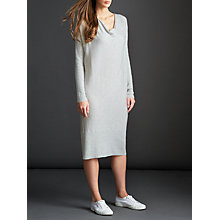 Buy Modern Rarity Cowl Neck Long Dress, Grey Online at johnlewis.com