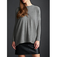 Buy Modern Rarity Cashmere Cross Back Jumper, Grey Online at johnlewis.com
