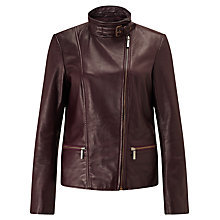 Buy Bruce by Bruce Oldfield Leather Jacket Online at johnlewis.com