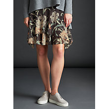 Buy Modern Rarity Archive Print Drape Skirt, Charcoal Online at johnlewis.com