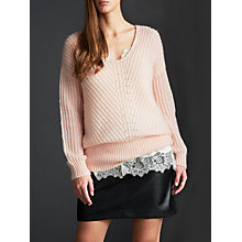 Buy Modern Rarity Rib V-Neck Jumper Online at johnlewis.com