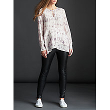 Buy Modern Rarity Drape Hem Top, Marble Online at johnlewis.com