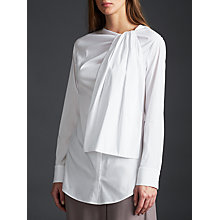 Buy Modern Rarity palmer//harding Tie Neck Shirt, White Online at johnlewis.com