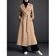 Buy Modern Rarity Cashmere Trench Coat, Light Camel Online at johnlewis.com