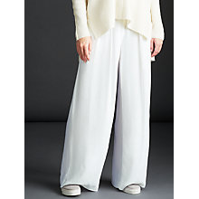 Buy Modern Rarity Fluid Wide Leg Trousers, Ivory Online at johnlewis.com