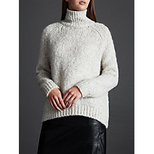 Buy Modern Rarity Chunky Knit Jumper, Pale Grey Online at johnlewis.com