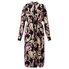 Buy Somerset by Alice Temperley Dahlia Print Long Shirt Dress, Multi Online at johnlewis.com