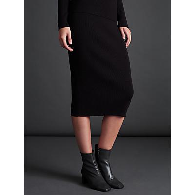 Modern Rarity Tube Rib Skirt, Grey