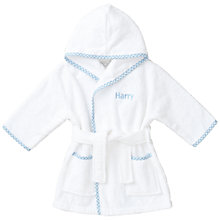 Buy My 1st Years Baby Personalised Prince Gingham Robe, Multi Online at johnlewis.com
