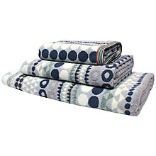 Buy Margo Selby for John Lewis Sebastian Towels, Black Online at johnlewis.com